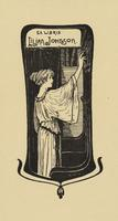 Lilian Johnson Bookplate
