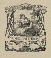 Emma Kemmy Bookplate