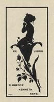 Florence Kenneth Keys Bookplate