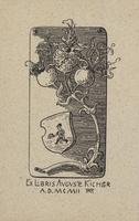 Auguste Kichler Bookplate