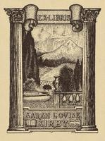 Sarah Louise Kirby Bookplate