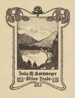 Julia M. Korsmeyer Bookplate
