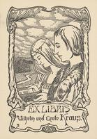 Grete Kraus and Wilhelm Kraus Bookplate