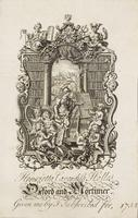 Oxford and Mortimer Bookplate
