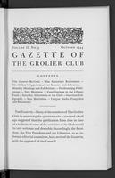 Gazette of the Grolier Club Vol. 02 No. 03