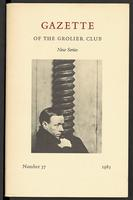 Gazette of the Grolier Club New Series No. 37