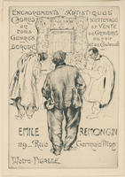 Trade card for Emile Remongin