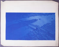 Blueprint of Blackwells Island Bridge Model