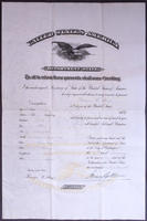 Passport for George E. Hoe