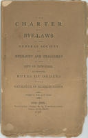 Front Cover of Original By-Laws, 1798