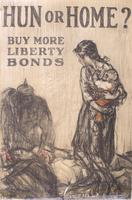 Hun or Home? Buy More Liberty Bonds, WW1 Poster