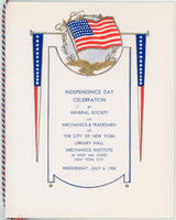 GSMT Independence Day Program, 1955