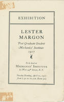 Exhibition Catalog: Lester Margon at Mechanics' Institute