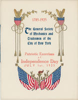 GSMT Independence Day Program, 1925