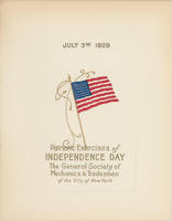 GSMT Independence Day Program, 1929