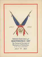 GSMT Independence Day Program, 1931