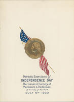 GSMT Independence Day Program, 1933