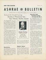 New York City Chapter Ashrae Bulletin, 1964