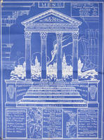 "AAMI Annual Dinner ""Blueprint"" Announcement, 1915"