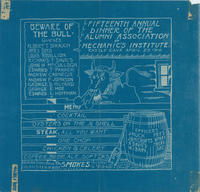 "AAMI Annual Dinner ""Blueprint"" Announcement, 1916"