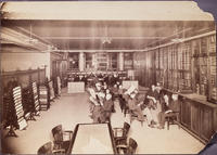 GSMT Library Reading Photo, 1890