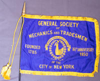 GSMT 165th Anniversary Commemorative Flag