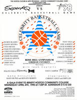 Celebrity Basketball Game Poster