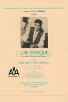 Luis Enrique, a Special Mother's Day Concert Postcard