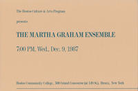The Martha Graham Ensemble Promotional Brochure