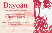 Bayoán: Quest for an Antillean Identity Orchestral Performance Postcard