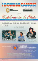 Gala Celebration for Dominican Independence Promotional Postcard