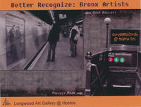 Better Recognize: Bronx Artists Art Exhibition Postcard