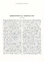 "Interracial Review, ""Manhattanville Marches On!"""