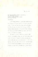 Letter of Protest, May 19, 1938
