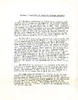 Interracial Justice Week 1946, Press Release