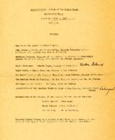 Interracial Justice Week 1946, Interracial Forum Program