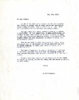 "Letter of Protest, May 19, 1938 ""An Old Graduate"""