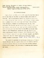Interracial Justice Week 1946, Press Release March 6, 1946