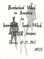 Interracial Justice Week 1962, Poster