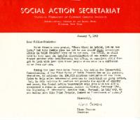 Interracial Justice Week 1963, Call to Action