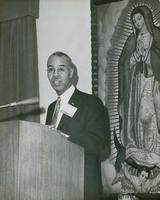 "Interracial Justice Week 1963, Forum: ""Fatherhood of God and the Brotherhood of Man"""