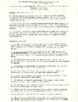 Social Action Secretariat Program for 1965-1966