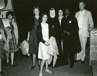 March on Washington Departure, President with attendees