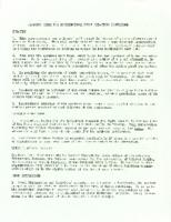 "Interracial Justice Week Kit 1964, ""Planning Sheet for Interregional Human Relations Conference"""