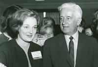 Social Action Secretariat Conference 1964, Mary Moran and Senator K. B. Keating