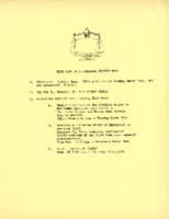 "Interracial Justice Week 1961, ""Your Part in Interracial Justice Week"" handout"