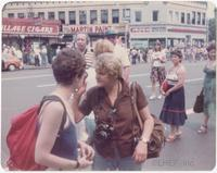 Bettye Lane at a pride march