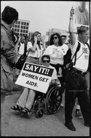 Say it!! WOMEN GET AIDS