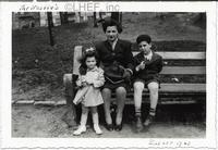 Joan Nestle and her mother and brother