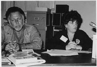 Joan Nestle and Al Goldstein